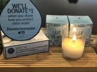 aveda earth month zinke hair studio candles