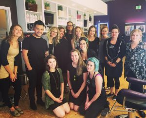 zinke hair studio power paint with luis gonzalez