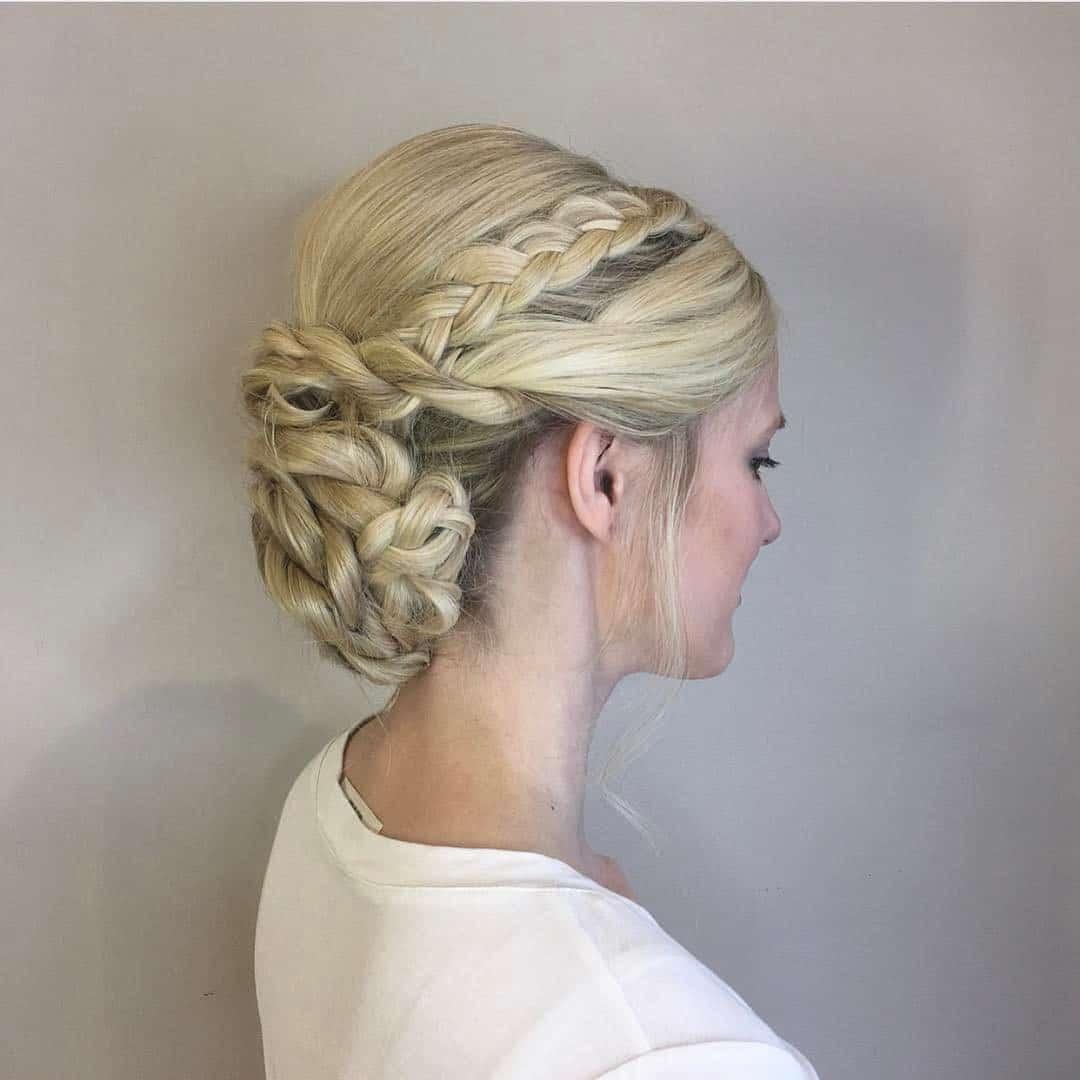 bridal braids by zinke hair studio in boulder, CO
