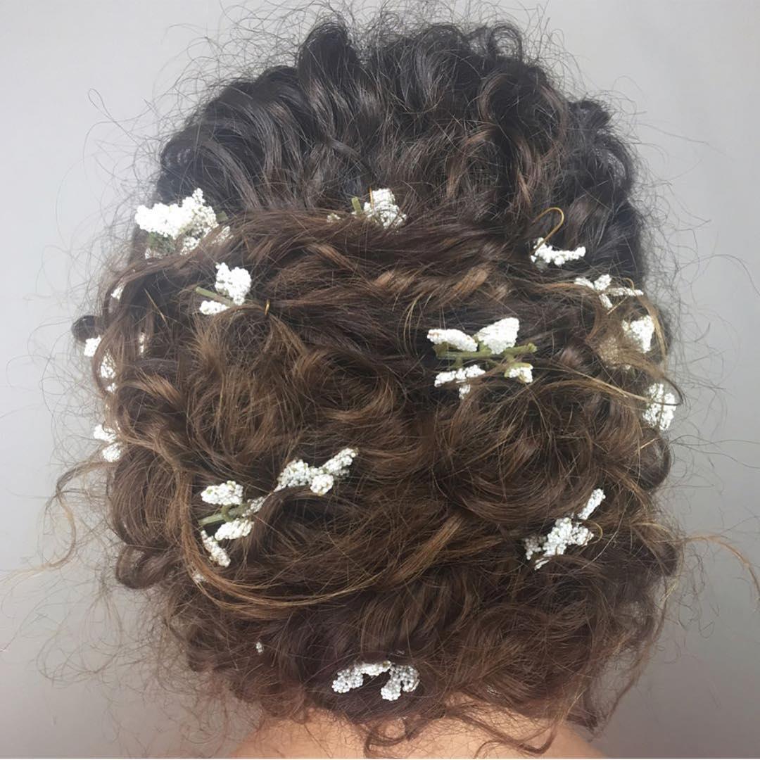 bridal updo, aveda bridal hairdo, wedding hair
