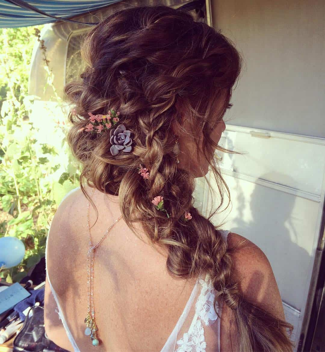 beautiful wedding hair and makeup in Boulder, CO