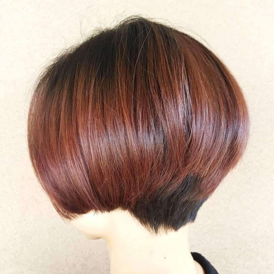womens aveda haircut, womens bob
