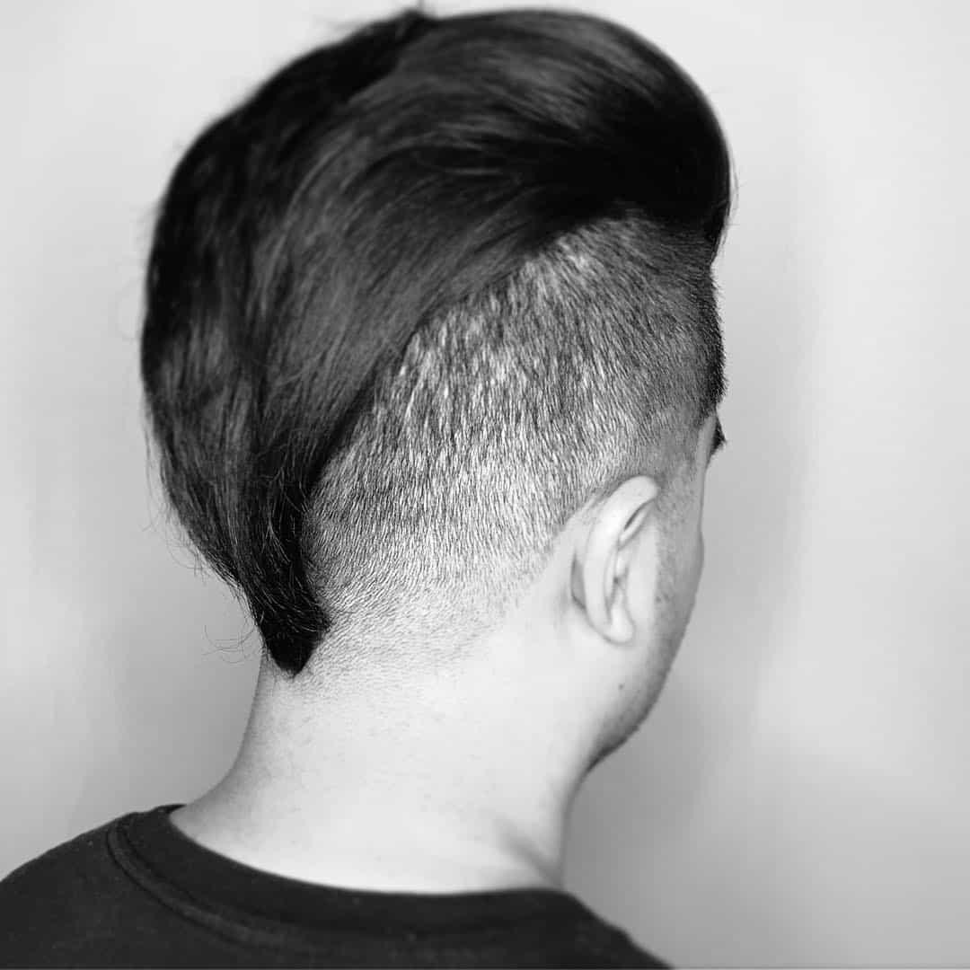 mens fade, mens haircut, aveda hair salon in Boulder, CO