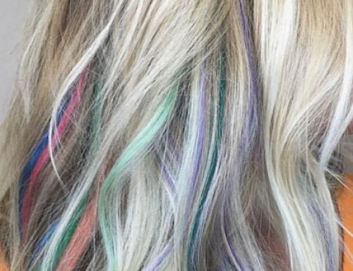 Rainbow Hair Colors with Aveda