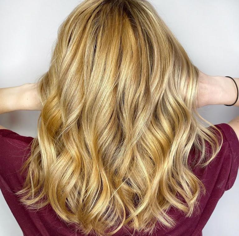 golden blonde hair color denver