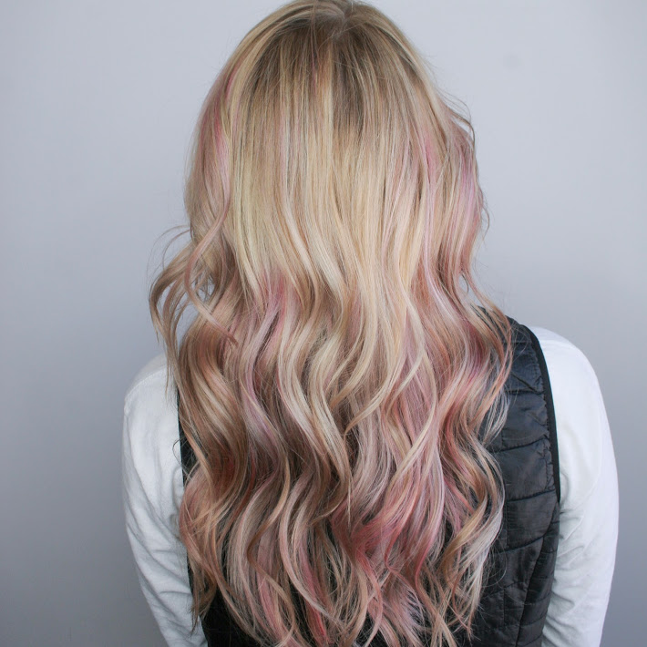 Pink Color Hair Color