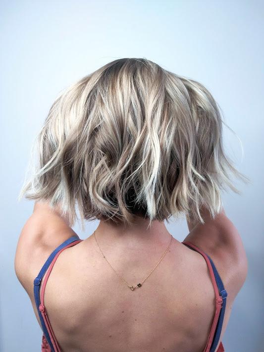 Textured Bob Haircut Denver